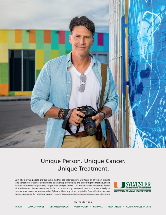 sylvester advertising campaign photography, portrait of photographer holding camera in wynwood